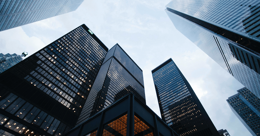 City Skyrise Buildings